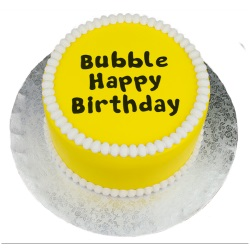 Marvelous Molds Flexabet - Bubble Happy Birthday
