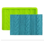 Marvelous Molds Simpress - Rib & Cable Knit_THUMBNAIL