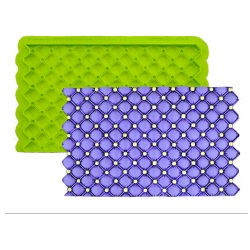 Marvelous Molds Simpress - Tufted Swiss Dots LARGE