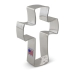"Cross Cookie Cutter - 4-1/4"" - Ann Clark"