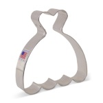 Wedding Dress Cookie Cutter_THUMBNAIL
