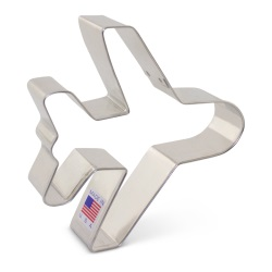 "Airplane Cookie Cutter - 4"" LARGE"