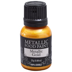 Metallic Food Paint - Gold LARGE