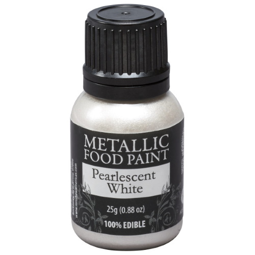Metallic Food Paint - Silver THUMBNAIL