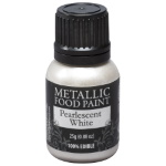 Metallic Food Paint - Pearlescent White THUMBNAIL