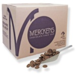 Merckens Cocoa Dark Coating Wafers - 50#