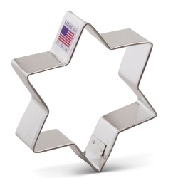 Star of David Cookie Cutter - Ann Clark LARGE