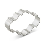Plaque Cookie Cutter - Oval