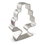 Cake on Pedestal Cookie Cutter THUMBNAIL