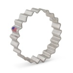 "Fluted Circle Cookie Cutter - 4"" THUMBNAIL"