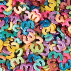 Confetti - Mixed Shimmer Number 3 LARGE
