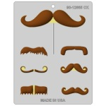 Hard Candy Mold - Mustache