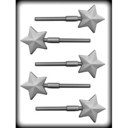 Faceted Star Hard Candy Mold