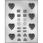 Message Heart Chocolate Mold