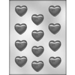 Smooth Heart Mint Chocolate Mold