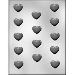Plain Heart Chocolate Mold - 1-1/4""