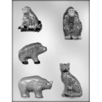 African Animals Chocolate Mold