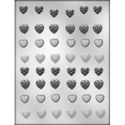 Mini Heart Assortment Chocolate Mold