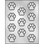 Paw Print Chocolate Mold