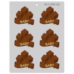 ABC-Baby Blocks Chocolate Mold
