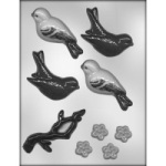 Birds & Blooms Chocolate Mold