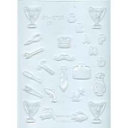Father Assortment Chocolate Mold