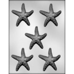 "Starfish Chocolate Mold - 3"" THUMBNAIL"