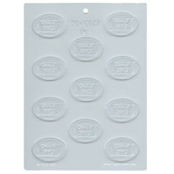 Class Reunion - 2014 Oval Mint Chocolate Mold LARGE