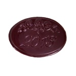 Class Reunion - Oval w/Roses 2013 Chocolate Mint Mold_THUMBNAIL