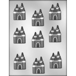 "Castle Chocolate Mold - 2"" LARGE"