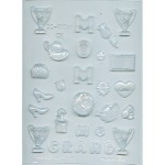 Women Accessories Chocolate Mold