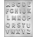 Alphabet Chocolate Mold - 1-1/4""