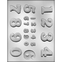 Assorted Number Chocolate Mold_LARGE