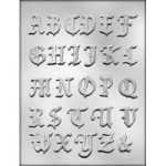Alphabet Chocolate Mold - 1-3/8""