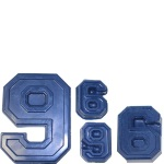 "Collegiate Number ""6/9"" Chocolate Mold THUMBNAIL"