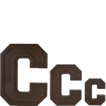 "Collegiate Letter ""C"" Chocolate Mold THUMBNAIL"