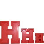 "Collegiate Letter ""H"" Chocolate Mold"