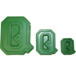 "Collegiate Letter ""Q"" Chocolate Mold THUMBNAIL"