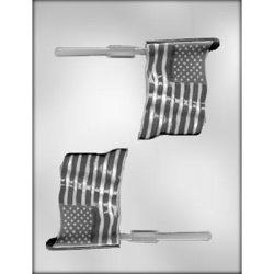 Flag Chocolate Mold