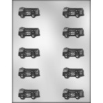 "Fire Truck Chocolate Mold - 1-3/4"" THUMBNAIL"