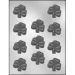 "Shamrock Chocolate Mold - 2"" THUMBNAIL"