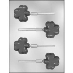 Thick Shamrock Chocolate Mold LARGE