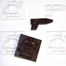 Space Robot & Laser Chocolate Mold