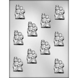 Bride & Groom Chocolate Mold LARGE