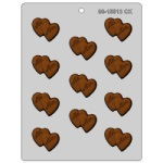 Double Hearts Mint/Mr. Mrs. Chocolate Mold_THUMBNAIL