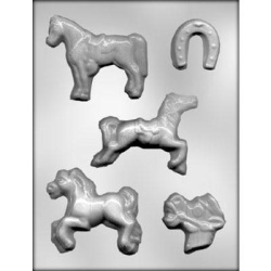 Horses Chocolate Mold LARGE
