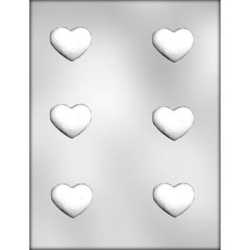 "Truffle Heart Chocolate Mold - 1-3/4"" LARGE"