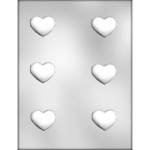 Truffle Heart Chocolate Mold - 1-3/4""