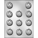 Jack-O-Lantern Chocolate Mold