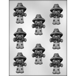 Cute Scarecrow Chocolate Mold